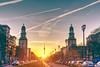 Urban Sunset II (Ku6u5) Tags: frankfurter allee karl marx berlin tv tower