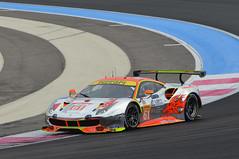Ferrari 488 GTE (jfhweb) Tags: jeffweb sportauto sportcar racecar voituregrandtourisme voituredesport gt voituredecourse courseautomobile circuitpaulricard circuitducastellet lecastellet httt fiaworldendurancechampionship wec wec2018 prologue ferrari 488 488gte