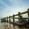 Groyne (El Tel63, Photographer & Phantom flyer) Tags: groyne bigstopper longexposure canon6dmk2 canon beach sand stones pebble filter 10stop coastline coast sea englishchannel wood rusty