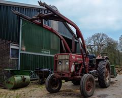 Old tractor (Marco van Beek) Tags: holland europe beautiful world nikon d5000 afs dx nikkor 18200mm f3556g ed vr ii old vehicle oldtimer