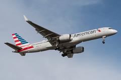 American Airlines · Boeing 757-223(WL) · N176AA (cn 32395, ln 994, fn 5FL) · KBOS 4/24/18 (Micheal Wass) Tags: bos kbos loganinternationalairport bostonloganinternationalairport bostonlogan loganairport aa aal american americanairlines boeing 757 757200 boeing757 boeing757200 757223 boeing757223 757200wl boeing757200wl 757223wl boeing757223wl b752 n176aa