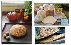 Pan integral de nueces y masa madre (collage) (marialuz_fernandez) Tags: sourdough walnuts nueces wholewheat masamadre harinaintegral bread pan
