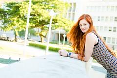 Alexia (Raphael Araujo Feitoza) Tags: bw beach belezafeminina brasil brazil color cor cute ensaio ginger girl linda luckfotografia moda model modelo pb praia raphaelfeitoza redhair riodejaneiro rj ruiva sexy smile sweet urca vogue