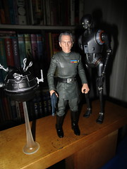 Grand Moff Tarkin with Death Star Droids Star Wars 4051 (Brechtbug) Tags: peter cushing grand moff tarkin with death star droid k2so or kaytuesso interrogation wars action figure toy toys villain villains 1964 1960s 60s 1977 1970s 70s movie film science fiction scifi spy adventure hot forbidden planet comics store nyc 2018 comicbook rogue one a new hope