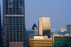 Clock Struck Gold (code_martial) Tags: d7200 24120mmf4gvr sunset cityscape jakarta indonesia