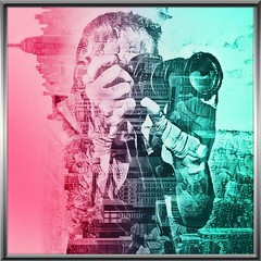 Fotografer (MoparMadman63) Tags: abstract self me camera art artistic color frame portrait