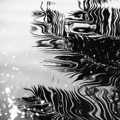 The Ripple Effect (BrianMills) Tags: patterns waterscape water bnw art artistic abstract black white mono nature monochrome creatives visual visualart light shadow