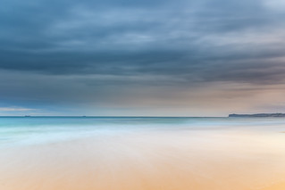 Overcast Morning Seascape
