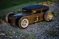 #3 RC Scratchbuilt Bagged Ratrod First Drive (Strangely Different) Tags: rceveryday rcengineering tinytrucks rcratrod kustom patina scratchbuilt ratrod chopped hobby rccar rc4wd scratchbuild customrc scaler scalerc axial tamiya traxxas
