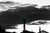 Iconic landmarks (PhredKH) Tags: architecture blackwhite buildings canonphotography city cityscene cityview cityscape crystaltower fredknoxhooke fredkh iconic iconicbuilding landmarks monochrome photosbyphredkh phredkh selectivecolour silhouettes skyline splendid stockholm sweden swedish travelphotography traveltostockholm traveltosweden clouds sky nordiskakompaniet nk building