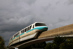 Monorail (Rick & Bart) Tags: waltdisneyworldresort disneyworld disney epcot rickvink canon eos70d orlando florida usa rickbart monorail train transport