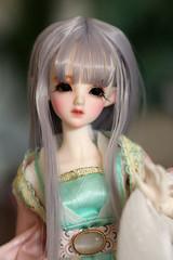 Asleep Eidolon - Mini Sylph (Nina's Doll *MAKEUP COMMISSION CLOSED*) Tags: asleep eidolon bjd ball jointed doll eld elf mini sylph fairy