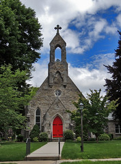 St James Episcopal Church (George Neat) Tags: st james episcopal church saint religion churchs stonework stone bedford county buildings structures historical old history georgeneat patriotportraits pa pennsylvania
