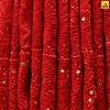 Chikan Pure  Georgette Red Lahenga (Adachikan) Tags: addons mukaish parsi chikankari chikan saree puregeorgette pure zardozi