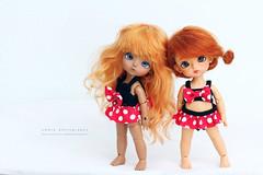 Cute Girls (Emmie Ame) Tags: latiyellow lati latidoll doll bjd balljointeddoll thenextforestneighborsverkimmy kimmy cinderellavercinderellahappycinderella happy