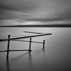 Marine Lake 2 (Explored April 18) (another_scotsman) Tags: westkirby marinelake seascape longexposure firecrest16stop mono
