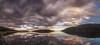 Reflejos. (Amparo Hervella) Tags: embalsedelajarosa comunidaddemadrid españa spain paisaje panorámica naturaleza embalse agua cielo reflejo nube color atardecer puestadesol largaexposición d7000 nikon nikond7000