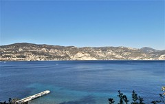 Les 3 corniches - Beaulieu-sur-Mer <--> La Turbie, Côte-d'Azur, France (3D-Stretch) Tags: trois three tre tres drei corniches corniche basse moyenne haute low middle high m6098 m6007 d6007 d2564 a8 beaulieu mer èze bord village col la turbie beausoleil paca provencealpescôtedazur côtedazur côte cote dazur azur alpesmaritimes alpes maritimes 06 french riviera française francaise france ue eu europa europe