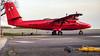 Back Home (Al Henderson) Tags: 748 aviation bas bedfordshire britishantarcticsurvey cranfield dhc6 dehavillandcanada egtc icecoldkaty planes twinotter vpfaz