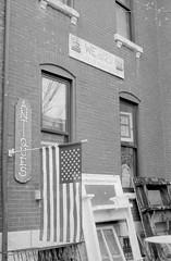 antiques (image mine) Tags: flag mantel monochrome window