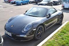 Porsche 911 Carrera S Cabriolet 911 (Monde-Auto Passion Photos) Tags: voiture vehicule auto automobile porsche 911 carrera cabriolet convertible roadster spider noir black sportive supercar france fontainebleau