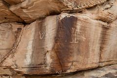 Corner Glyphs (W9JIM) Tags: nevada unitedstates w9jim rockart petroglyphs ef24105mmf4lisusm canoneos5dmarkiv 5d4 24105l romannumerals v elvenrunes