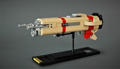 LCS - Dagger (adde51) Tags: adde51 lego moc spaceship microscale illegal connections illegalconnections space scifi tan red