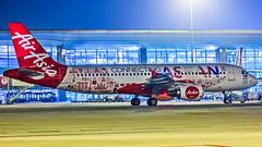 Air Asia Malaysia Airbus A320 9M-AHX Bangalore (BLR/VOBL) (Aiel) Tags: airasia airasiamalaysia airbus a320 9mahx bangalore bengaluru canon6d tamron70300vc asean