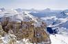 Sass Pordoi (Bechkoev) Tags: italy italia 2018 winter dolomites valgardena cortinadampezzo snow sasspordoi portra800 selfdeveloped fujigw690iii passodifalzarego