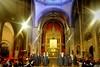 Església de Sant Jaume (Fnikos) Tags: church iglesia església sant jaume san jaime icon painting byzantine holytrinity santatrinidad light people architecture indoor