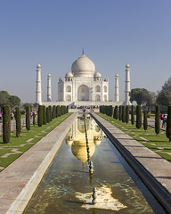 Taj Reflection (Mike Legend) Tags: india agra taj mahal reflection reflections water