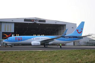 B737-86N OO-SRO (ex SE-RFV) TUI AIRLINES BELGIUM