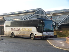 G-Line YJ14CAV 180111 Preston (maljoe) Tags: gline railreplacement preston prestonstation