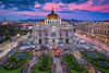 Bellas Artes Palace & Sunset (Luís Henrique Boucault) Tags: aerial amazing america architecture art artes arts background beautiful beauty bellas building capital city cityscape cultural culture dark darkness de df evening fine illumination landmark latin light marble metropolis mexican mexico night old palace palacio people scene sky space square street stunning summer sunset theater tourism travel urban view vintage