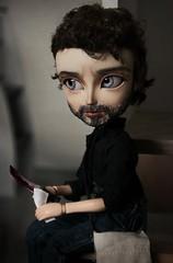 Rick Grimes - Taeyang FC (Loony-Doll) Tags: taeyang fc taeyangfc twd thewalkingdead rickgrimes rick custom custo doll dolls pullip makeup wig acryliques tsubasa zombie