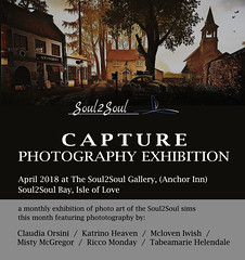 Capture Photography Exhibition April '18 at Soul2Soul Bay (Minnie Atlass - Landscaper & Sim Designer) Tags: secondlife sl soul2soul art gallery exhibition pictures capture photography virtual flickr supporting artists arty scenic landscapes water colour oil