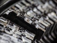 Back in the day.... (LSydney) Tags: macromondays backintheday typewriter macro