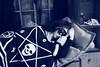 Photo 5; Haunted (Tatterpunk) Tags: echo giri gear eye geareye ghost haunted hands iplehouse fid raffine sleeping bjd doll ball jointed fashion iple black white goth tarot 14th