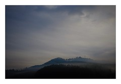 Among the Spring haze #3 (kouji fujiwara) Tags: fujifilm fujifilmxpro2 xpro2 山景 mountainview 空景 skyscape 春霞 springhaze spring haze fujinonxf35mmf14 fujinon xf35mmf14 35mmf14 35mm f14 landscape landschaft mountain