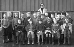 Class Photo (theirhistory) Tags: children kids boys school class form girls teacher jumper dress shirt shoes wellies wellingtons
