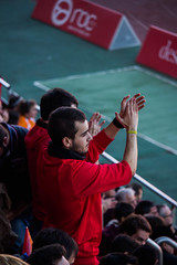 _MG_7430 (sergiopenalvagonzalez) Tags: futbol domingo palma de mallorca pelota jugadores aficion rojo negro pasion