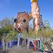 L'empereur (Le Jardin des Tarots de Niki de Saint Phalle à Capalbio, Italie)