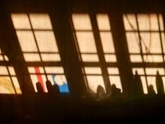 099/365: mid-morning illuminations (Michiko.Fujii) Tags: shadows shadowsandlight colour colourfulshadow atelier atelierista intheatelierista midmorningshadows poetic poeticshadows visualpoetry windows