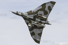 Avro Vulcan B.2 XH558 - RIAT 2015 (BenSMontgomery) Tags: avro vulcan b2 xh558 riat 2015 royal international air tattoo raf fairford airshow v bomber vtst to the sky tvoc