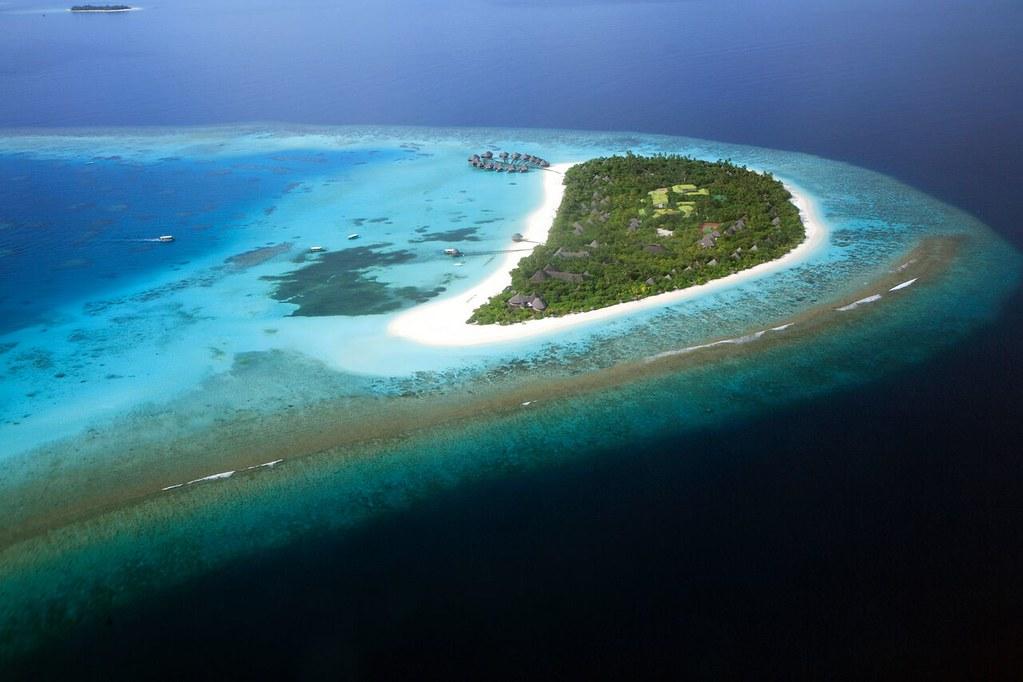 Coco Palm Dhuni Kolhu - Aerial