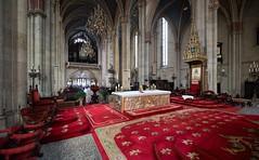 Zagrebačka katedrala (Cathedral of Zagreb), Croatia (alexanderferdinand) Tags: kroatien zagreb architektur architecture canoneos5dmarkiv sigma1424f28art hrvatska church availablelight