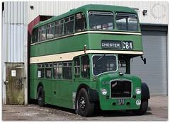 Bristol Lodekka (zweiblumen) Tags: bristollodekka ld6g 838afm c84 chester crosville 1957 bus classic vintage doubledecker dlg881 gardner creweheritagecentre crewe cheshire england uk canoneos50d canonef50mmf14usm polariser zweiblumen picmonkey