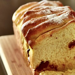 Pull-Apart Sweet Yeast Bread with Chocolate Chips (gamze avci) Tags: baking fresh chocolate pullapart yeast bread