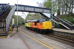 "Colas Rail 37254 ""Cardiff Canton"" @ Kidsgrove (uksean13) Tags: 37254 colasrail kidsgrove diesel lightlocomotive growler canon 760d efs1855mmf3556 cardiffcanton train railway"