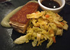spot of old spot (n.a.) Tags: crispy pork belly cabbage apple sauce smear food